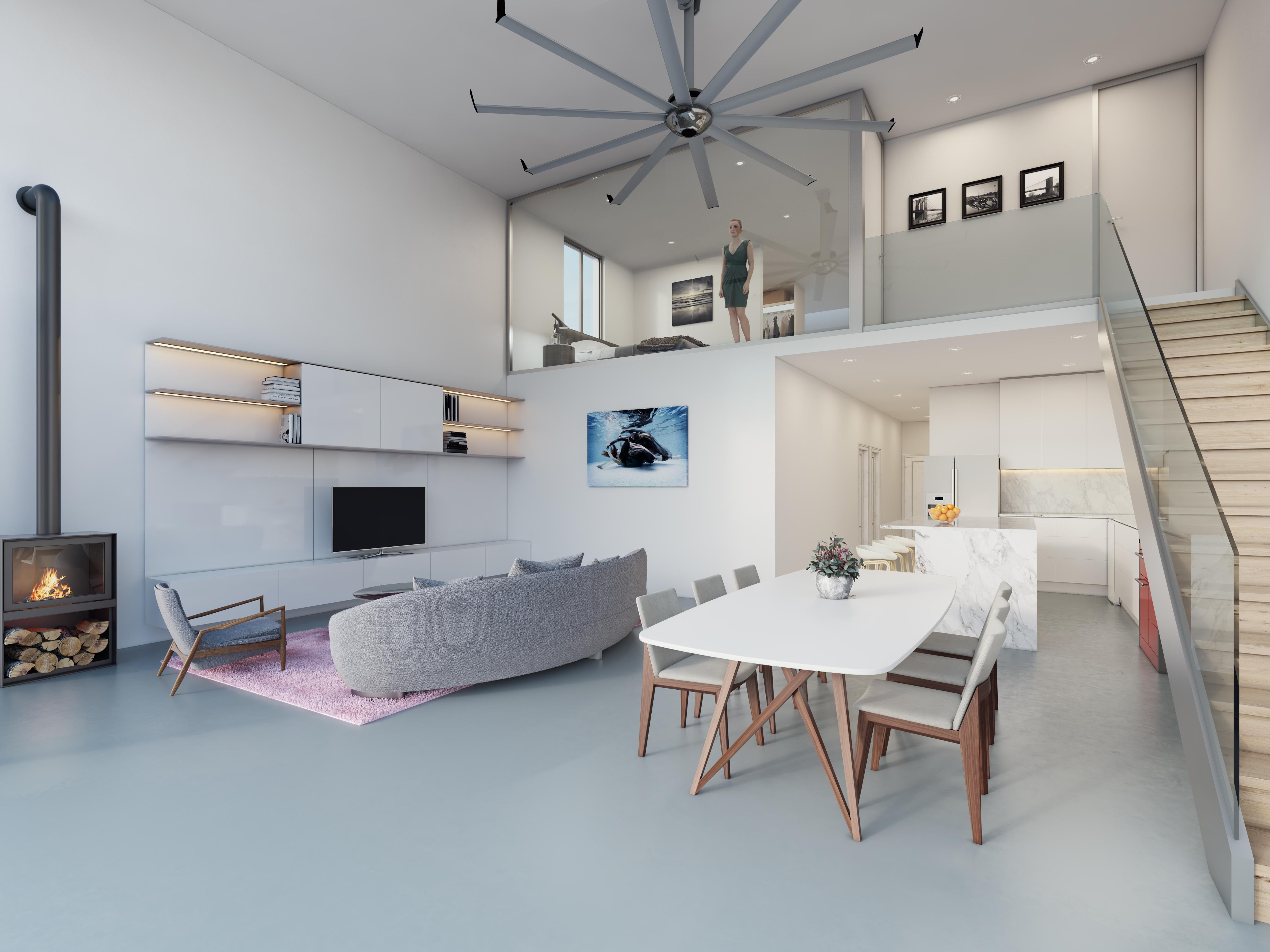 Niagara Condominiums lofts modern open concept