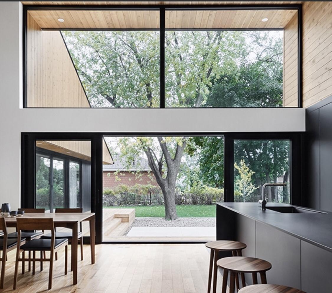 wall to wall windows doors