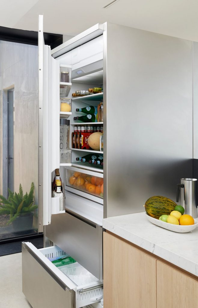 Upgraded professional appliances